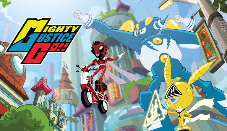 Animasia Animation Studio - Mighty Justice Go!