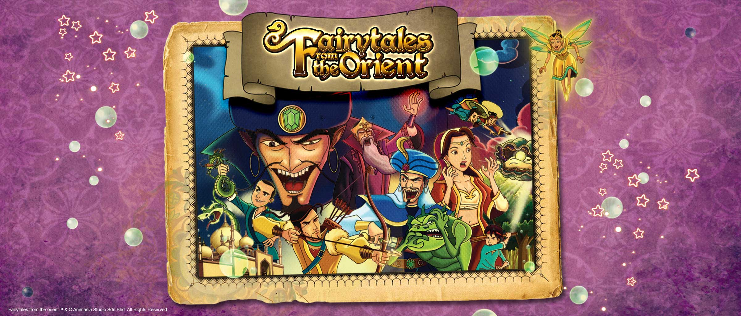 Animasia Project Banner Fairytales