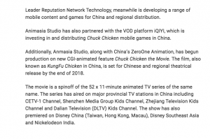 CHUCK CHICKEN BUILDS A NEST IN CHINA - Article 2