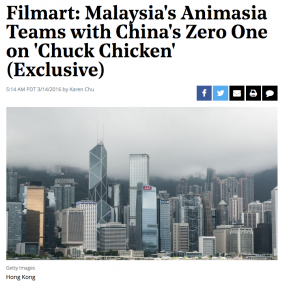 ANIMASIA TEAM WITH CHINA FOR CHUCK CHICKEN - Article 1