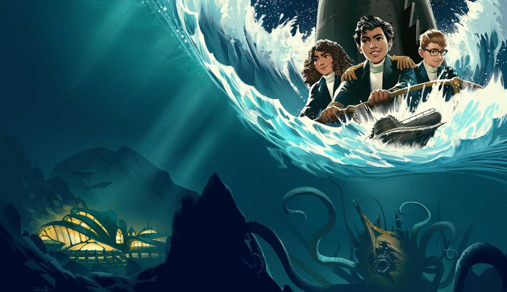 Young Captain Nemo (Photo From Google)